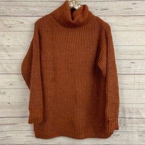 Free People eleven turtleneck oversized sweater